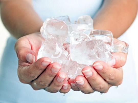Kết quả hình ảnh cho đá lạnh vết thương