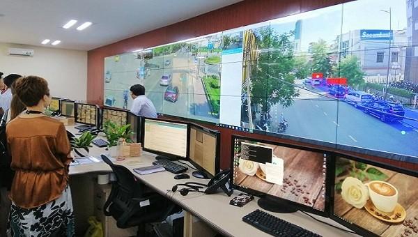 Trung tâm Giám sát, điều hành đô thị thông minh tỉnh Thừa Thiên - Huế