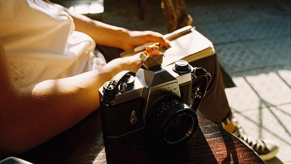 Giới trẻ hoài cổ với thú chụp Huế bằng máy ảnh film
