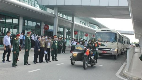 Kịch bản diễn tập có 250 công nhân Việt Nam đang từ vùng có dịch nCoV trở về  quê hương.