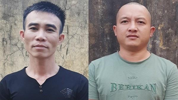 Chân dung hai đối tượng Bùi Văn Hào và Trần Đình Phong.