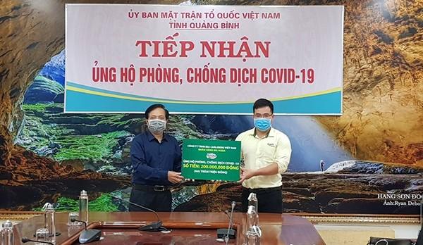 Carlsberg Việt Nam ủng hộ miền Trung 2 tỷ đồng phòng, chống 'đại dịch' Covid-19