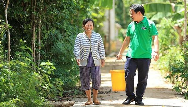 Huda nỗ lực hỗ trợ gần 4.000 hộ gia đình miền Trung tiếp cận nguồn nước sạch