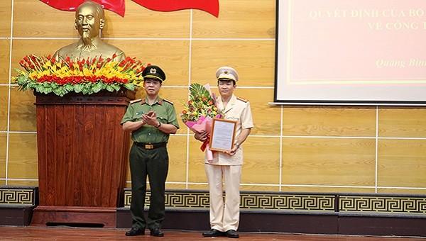Bổ nhiệm Phó Giám đốc Công an tỉnh Quảng Bình