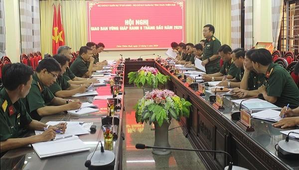 Thừa Thiên Huế và Đà Nẵng tổ chức hội nghị phối hợp hoạt động đóng quân canh phòng