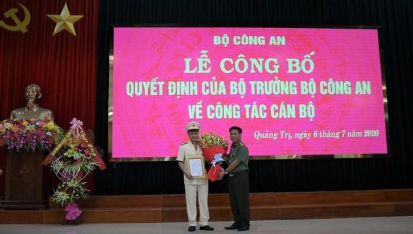 Bổ nhiệm Trung tá Kiều Đức Tính làm Phó Giám đốc Công an tỉnh Quảng Trị