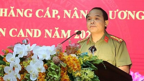 Đại tá Nguyễn Quốc Đoàn, Ủy viên Ban Thường vụ Tỉnh ủy, Giám đốc Công an tỉnh Thừa Thiên Huế, được bầu làm Phó Bí thư Tỉnh ủy.