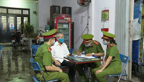 Các lực lượng công an tỉnh, thành phố, phường xã đang tích cực kiểm tra hoạt động của các cơ sở lưu trú trên địa bàn.
