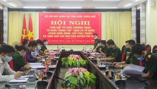 """Thừa Thiên Huế phối hợp tổ chức chương trình """"Tổ quốc trong tim"""""""