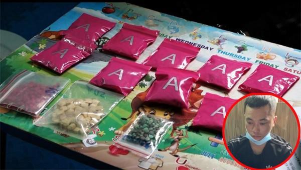 Công an TP Đồng Hới triệt phá chuyên án ma túy, thu giữ hàng nghìn viên ma túy tổng hợp