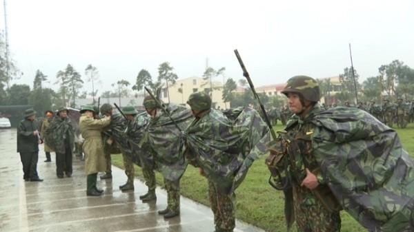Lực lượng vũ trang tỉnh Thừa Thiên Huế chuẩn bị tốt các phương án bảo vệ Đại hội Đảng toàn quốc lần thứ XIII