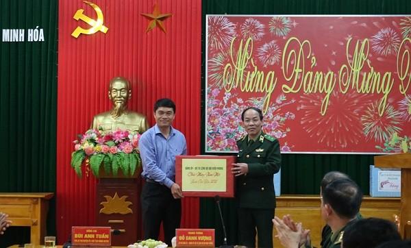 Bộ Tư lệnh Bộ đội Biên phòng thăm, tặng quà chiến sĩ và nhân dân biên giới Quảng Bình