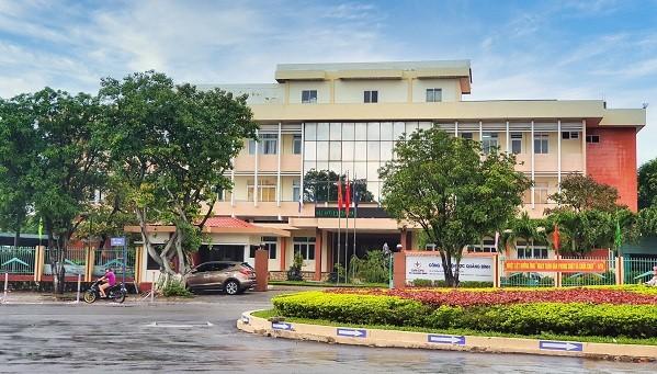 Trụ sở Công ty Điện lực Quảng Bình.
