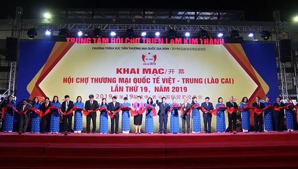 Khai mạc Hội chợ Thương mại quốc tế Việt – Trung lần thứ 19 tại Lào Cai