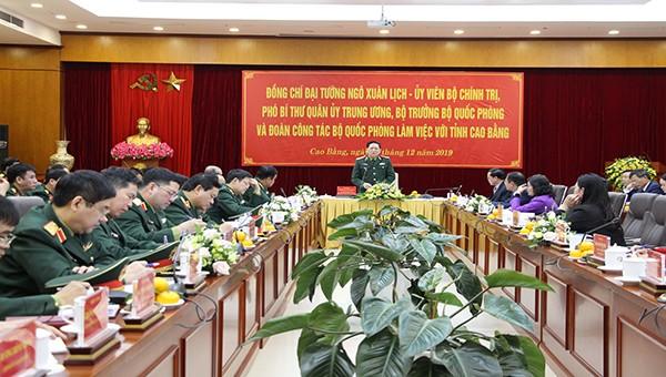 Làm những điều tốt nhất để tri ân mảnh đất khai sinh Quân đội nhân dân Việt Nam