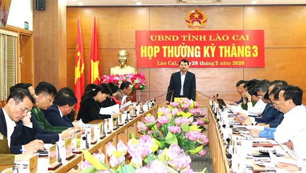 Lào Cai quyết tâm thực hiện mục tiêu kinh tế - xã hội năm 2020 dù dịch Covid-19