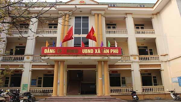 Trụ sở Đảng ủy - HĐND- UBND xã Tân Phú