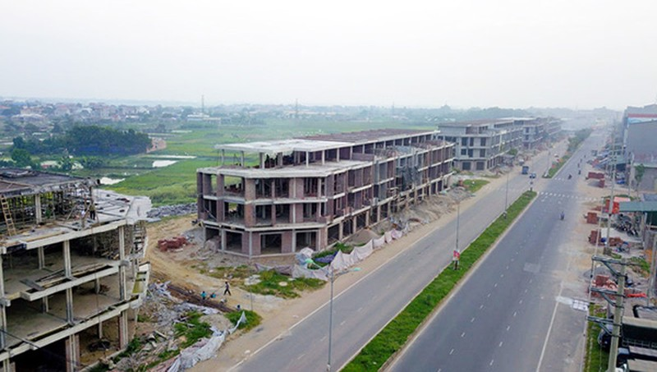 Thành phố Vĩnh Phúc đang phấn đấu đạt chuẩn đô thị loại I.