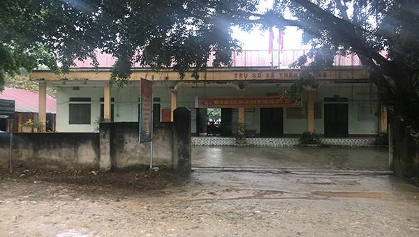 Trụ sở UBND xã Thành Long (huyện Hàm Yên, tỉnh Tuyên Quang).