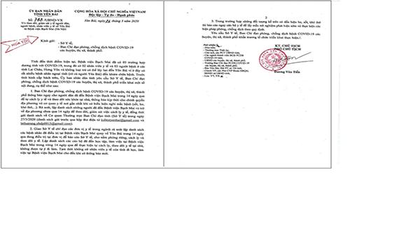 Yên Bái tích cực kiểm soát những trường hợp đi khám bệnh tại Bệnh viện Bạch Mai