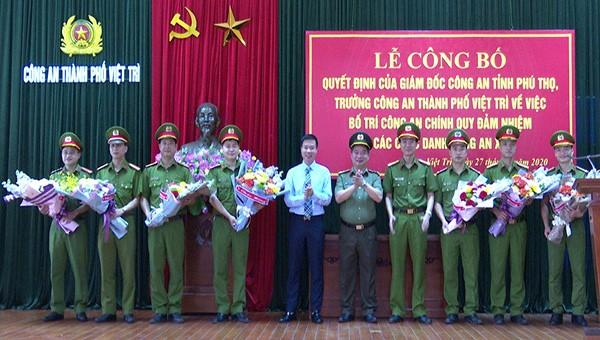 Việt Trì, Phú Thọ: 100% các xã có công an chính quy về địa bàn