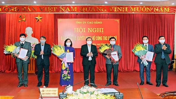 Thủ tướng Chính phủ phê chuẩn kết quả bầu Phó Chủ tịch UBND tỉnh Cao Bằng