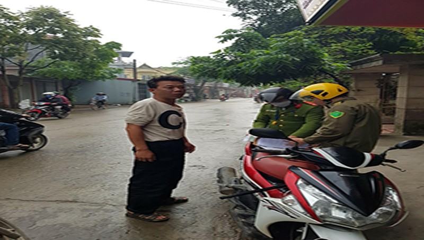 Xử phạt 311 trường hợp vi phạm quy định phòng, chống dịch Covid-19 ở Yên Lạc