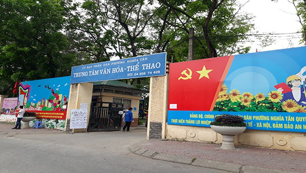 'ATM gạo' Nghĩa Tân hoạt động ngày 2 buổi đến 30/4