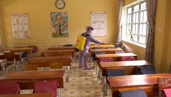 Mù Cang Chải sẵn sàng đón học sinh lớp 9 và 12 trở lại trường sau dịch