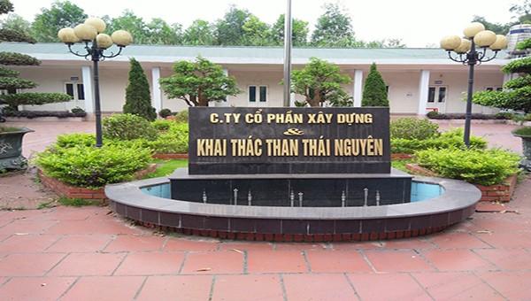 Trụ sở Công ty CPXD và Khai thác Than Thái Nguyên