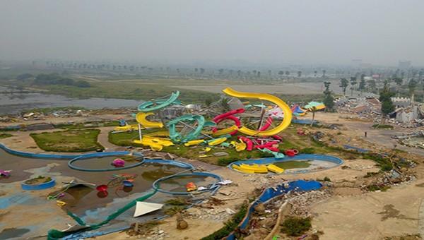 Công viên nước Thanh Hà, quận Hà Đông