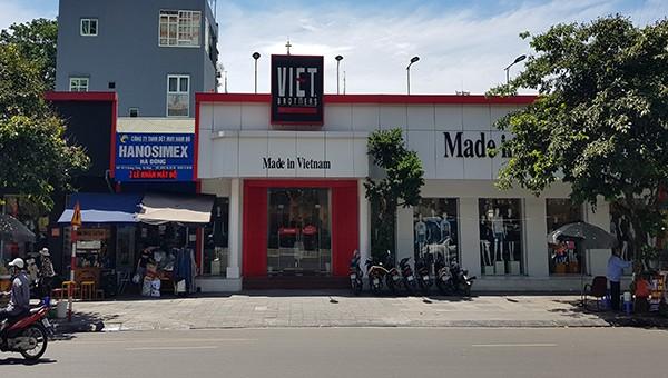 Cty CP In và Thương mại Hà Tây nhiều năm qua đã thay đổi diện mạo là một siêu thị thời trang với hàng nghìn m2