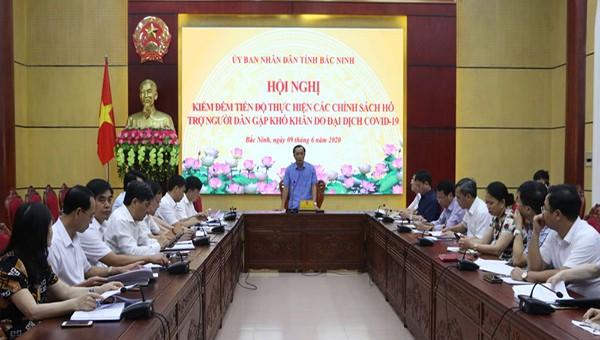 Hội nghị Kiểm đếm tiến độ thực hiện chính sách hỗ trợ người dân khó khăn do dịch Covid-19
