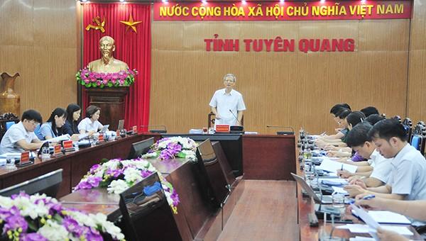 Chủ tịch tỉnh Tuyên Quang: Không giảm các chỉ tiêu kinh tế - xã hội nửa cuối năm 2020