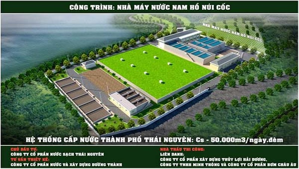 Phát triển hệ thống cấp nước sạch tại TP Thái Nguyên