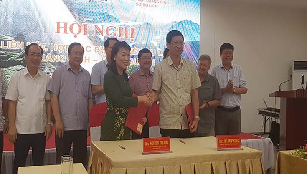 Hai tỉnh Quảng Bình - Thái Nguyên ký kết hợp tác phát triển du lịch.