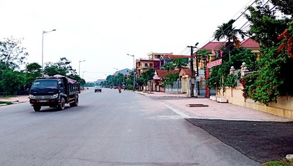 Nông thôn mới huyện Vĩnh Tường ngày càng khởi sắc