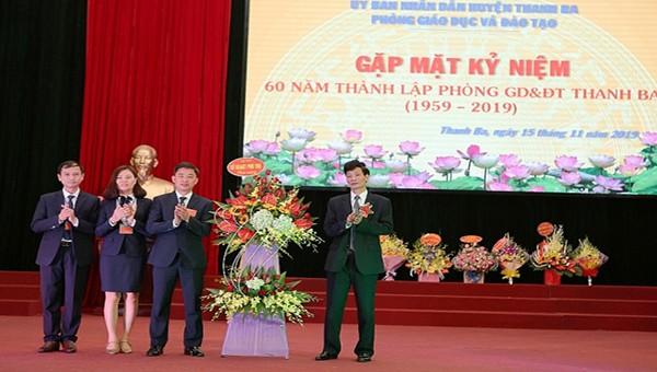 Phú Thọ: Ngành giáo dục huyện Thanh Ba đạt thành tích xuất sắc trong các phong trào thi đua yêu nước giai đoạn năm 2015-2020