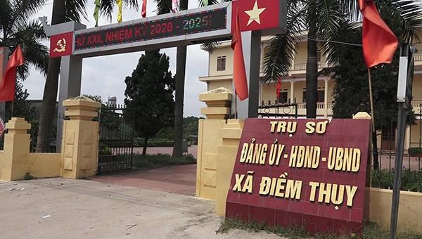 Trụ sở UBND xã Điềm Thụy, huyện Phú Bình (Thái Nguyên)