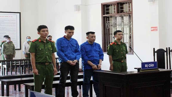 Hai bị cáo Lường Văn Nghị và Nguyễn Trường Sinh đều nhận mức án tù chung thân.