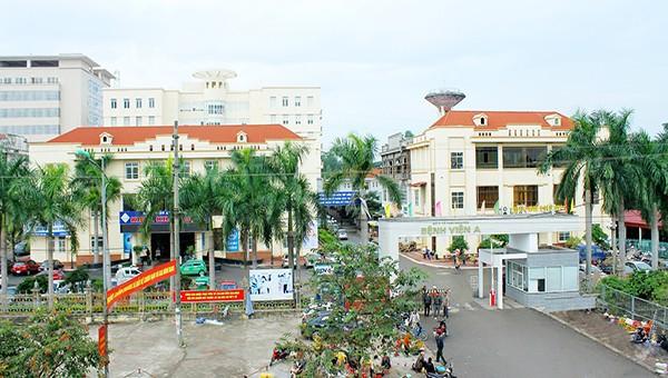 Cổng Bệnh Viện A Thái Nguyên