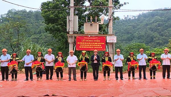 Hoàn thành Dự án cấp điện nông thôn lưới điện quốc gia tỉnh Thái Nguyên giai đoạn 2018 – 2020