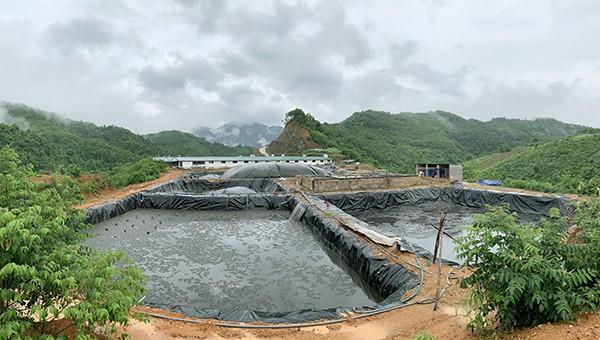 Hệ thống xử lý chất thải Dự án trại lợn thịt siêu nạc của Công ty SX Vật liệu xây dựng Bắc Kạn.
