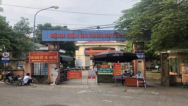 Bệnh viện Đa khoa huyện Định Hóa, nơi xảy ra vụ việc