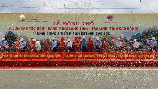 Lễ khởi công dự án Đồng Đăng - Trà Lĩnh