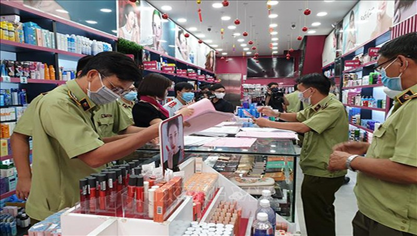 Cục Quản lý thị trường tỉnh Bắc Ninh phát hiện 452 vụ vi phạm các quy định trong lĩnh vực thương mại trên địa bàn.