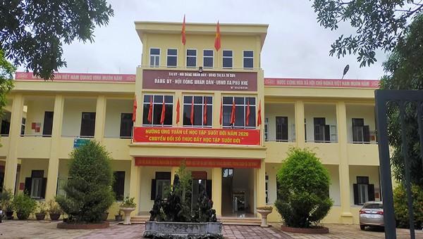 Trụ sở Đảng ủy, HĐND, UBND xã Phù Khê