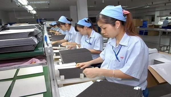 Bắc Ninh: Lượng lao động tại các khu công nghiệp tăng so với năm 2019