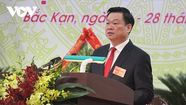 Đồng chí Hoàng Duy Chinh, tân Bí thư Tỉnh ủy Bắc Kạn nhiệm kỳ 2020-2025