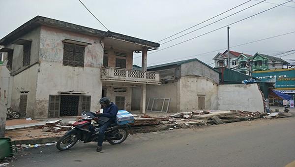 Chuẩn bị tháo dỡ công trình xây dựng trái phép ở huyện Vĩnh Tường (Vĩnh Phúc)